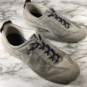 Ecco Mens Lace Up Casual Sneakers